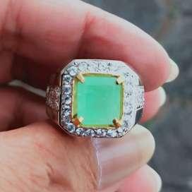 Natural Emerald Beryl Zamrud Colombia 2.44 Ct Bermemo