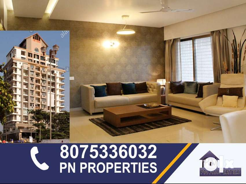 3 bhk luxury furnished flat for rent at calicut main beach. 0