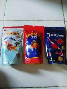 Makanan ikan/pelet asahi/sakura/takari aquarium /aquascape
