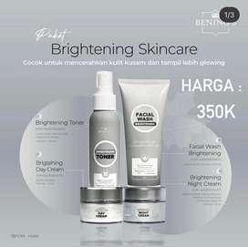 Krim klinik benings acne brightening