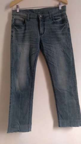 Jeans Panjang second import brand White Line size 34 - 35 (LP 86)