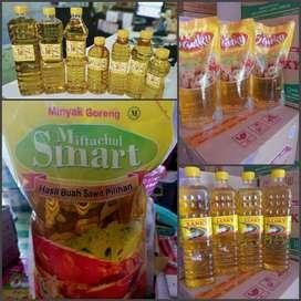 Minyak Goreng Smart Botol / Refill (Grosir dan Ecer)