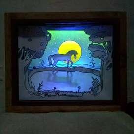 Lampu Hias - Lampu Malam - Lampu Kamar - Light Box