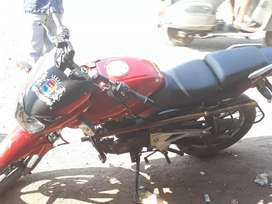 Pulsar 180 red&black colour running condition