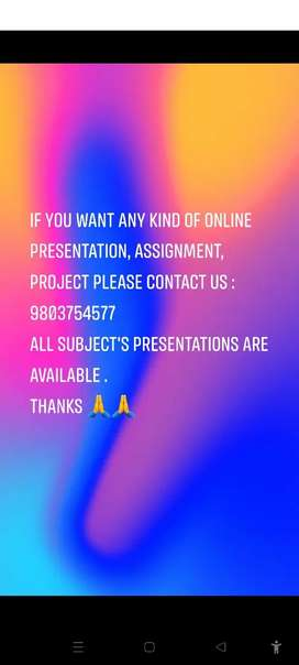 Online selling and dealing presentation, assignment and project.