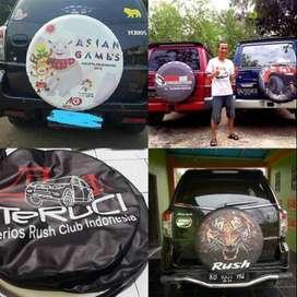 Cover/Sarung Ban Serep taruna/CRV/Taouring DLL rush jeep#kelelawar mal