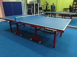 Meja tennis meja pingpong bahan mdf