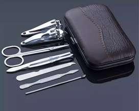 Set Pemotong Kuku Stainless Stell Manicure Pedicure 7pcs / Set