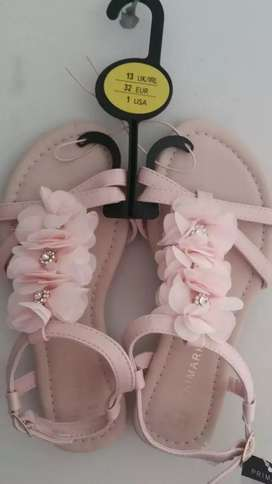 Imported Branded Korean style flat sandals kids size available