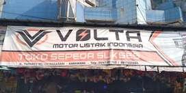 Credit sepeda listrik