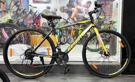 Brand new hybrid cycle with 5 years warranty. Bajaj & Credit card Emi