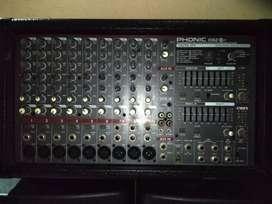 Power Mixer merk Phonic PowerPod 1062 Plus COD Bogor