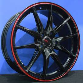 Smoke Velg Racing Hsr Ring18 Lubang5