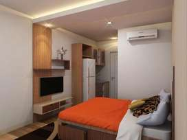 PROMO sewa unit harian studio full furnished apartemen bassura city
