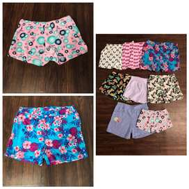 Kids Export Surplus Branded summer Printed Shorts