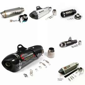 Motorcycle Exhausts/Mufflers/Bendpipes