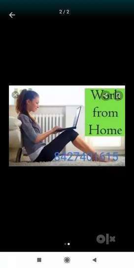 Get good payment on Home based data jobs with typing work