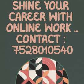 Online student required for online part time jobs