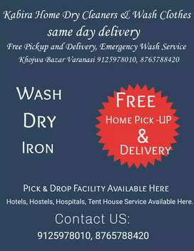 Kabira Home Drycleaners & Wash clothes