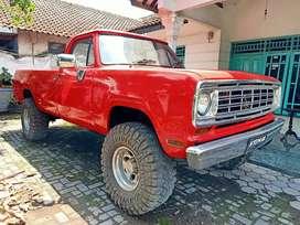 Dodge Truck / Pick Up Diesel 2500cc 6cylinder original Manual 1972