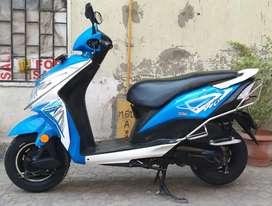 Honda Dio '' White & Blue