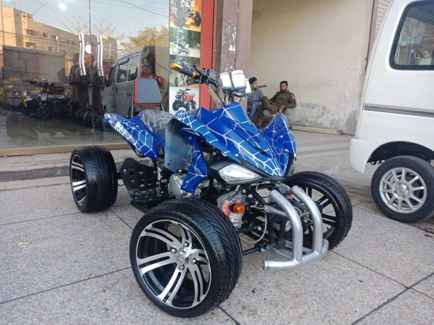 Box Packed Low Profile Raptor 250cc Atv Quad Online Deliver In All Pak 0
