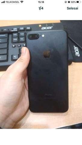 Iphone 7plus 32 gb mulus