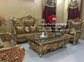 Kursi tamu sofa tamu elegan