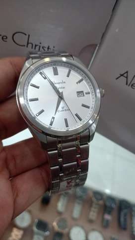 Jam tangan Alexandre Christie white