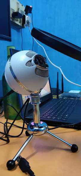 SNOWBALL BLUE USB CONDENSOR MICROPHONE 3 MODES