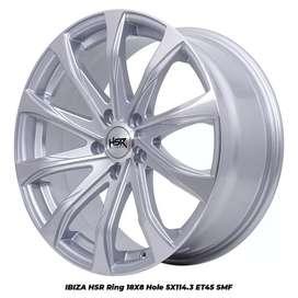 HSR IBIZA ring 18 pcd 5x114,3 for civic rush xpander inova brv dll