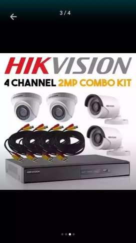 Pasang alat keamanan/paket KAMERA CCTV