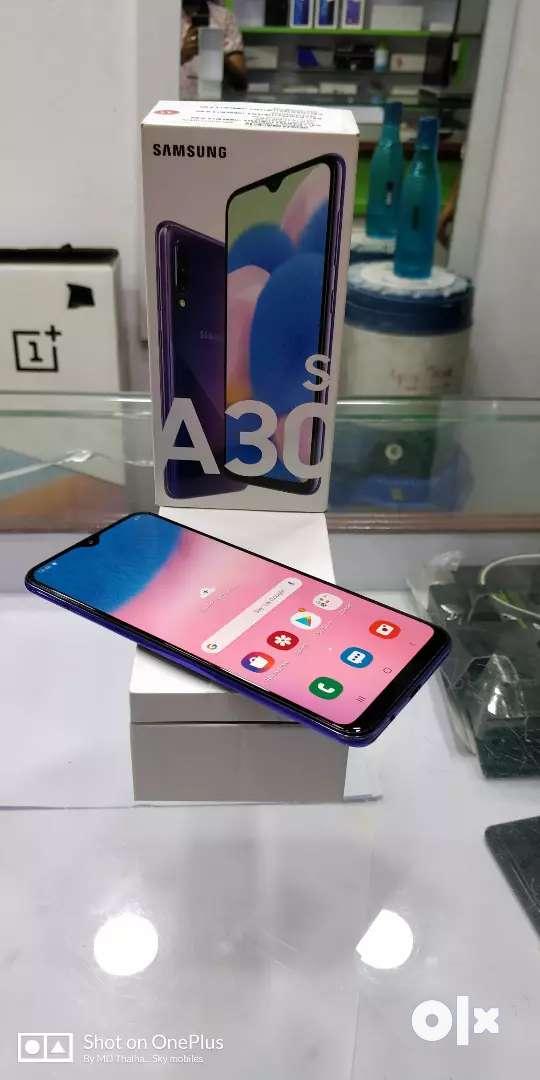 Sky mobiles Samsung Galaxy A30s mobile 4gb ram 64gb ROM memory 0
