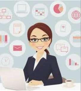 Admin / cashier / finance /reception / front desk di PIK