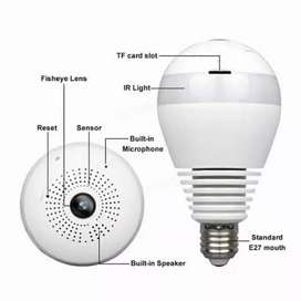 IP Cam WiFi Bohlam Kamera CCTV Bohlam Spy Cam Bulb V 380
