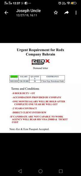 Urgent required for abrod