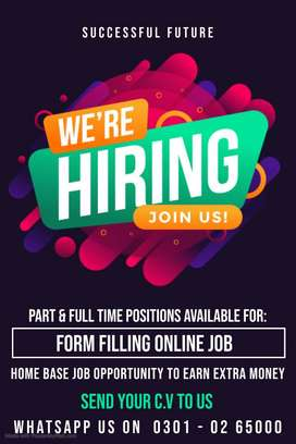 Stunning & genuine simple typing job is offering for male & female