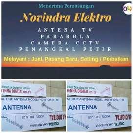 Pusat jual pasang baru antena tv murah lokasi Cipayung Jaktim