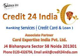 Urgently Hiring sales executive for credit card process
