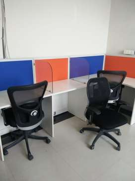Fully furnished 400 sq feet office for rent phase 8 mohali