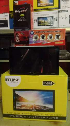 Double din tv fitur komplit+Antena tv booster+Camera+Psang