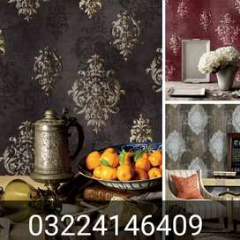 Italian chic wallpaper for wall covering home office decor