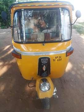 Bajaj diesel auto rickshaw