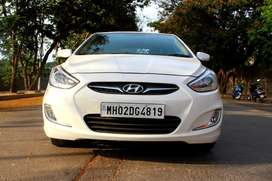 Hyundai Verna Fluidic 1.6 VTVT SX Automatic, 2013, Petrol