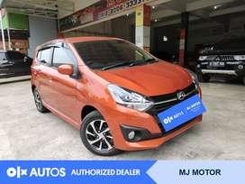 [OLX Autos] Daihatsu Ayla 2019 X 1.2 Bensin M/T Orange #MJ Motor