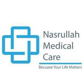 Nasrullah medical care need a child specialist in our setup.