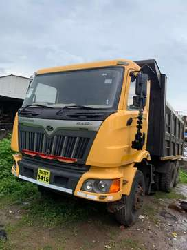 Mahindra 10tyre double houseing typper