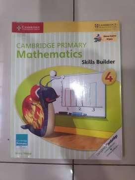 Buku Cambridge Primary Mathematics level 4