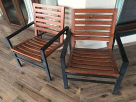 Set of two Wooden chair