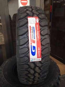 Ban GT Radial LT 265-75 R16 Savero MT untuk Strada Defender